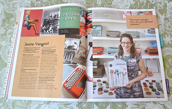 Flow magazine review Uppercase| Eclectic Trends