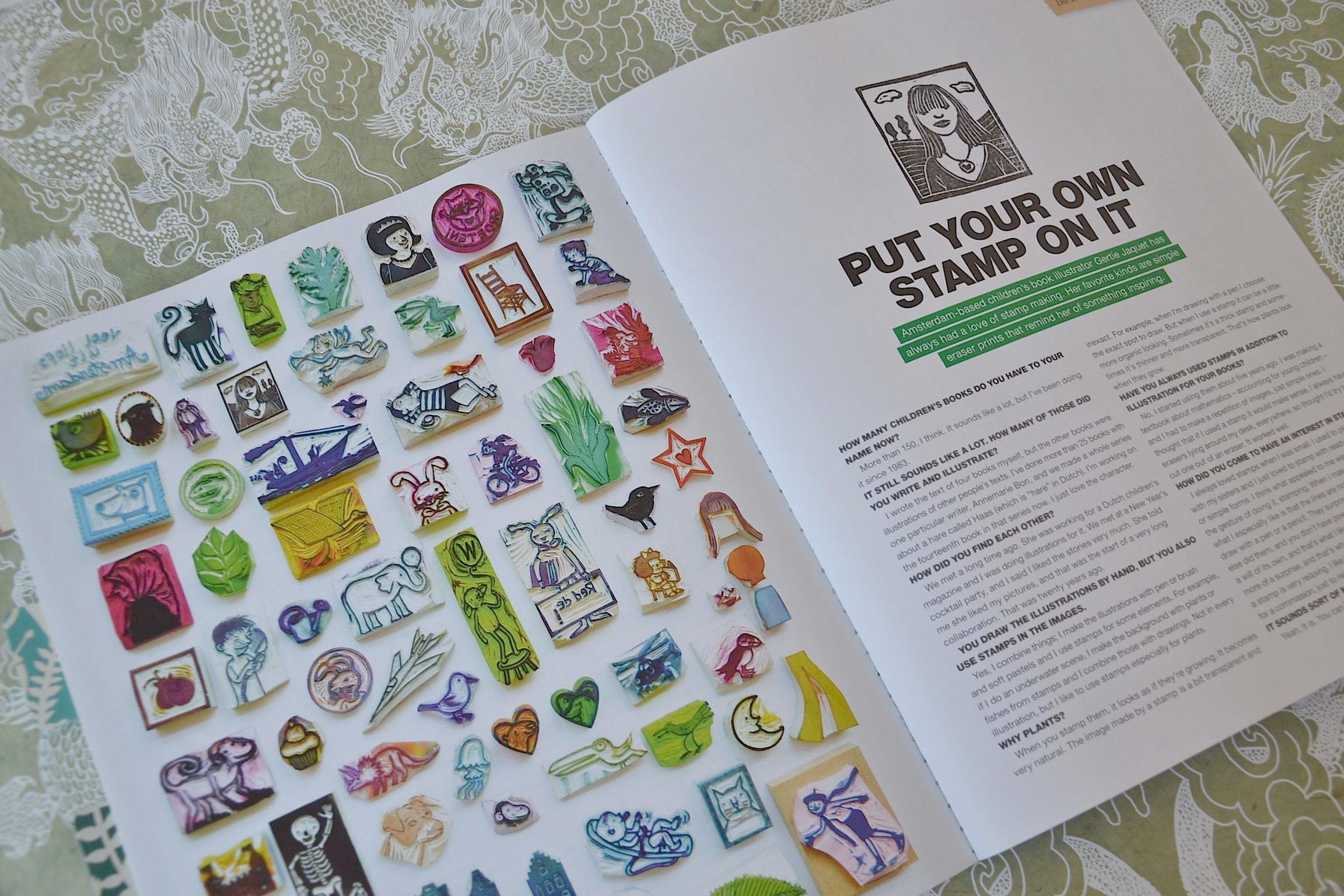 Flow magazine review stamps | Eclectic Trend