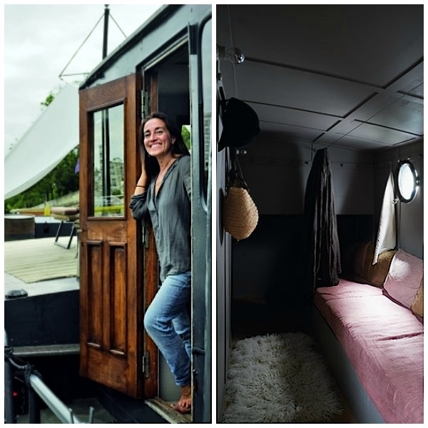 House boat Valérie Mazerat | Eclectic Trends