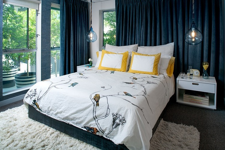 daleet spector design bedroom | Eclectic Trends