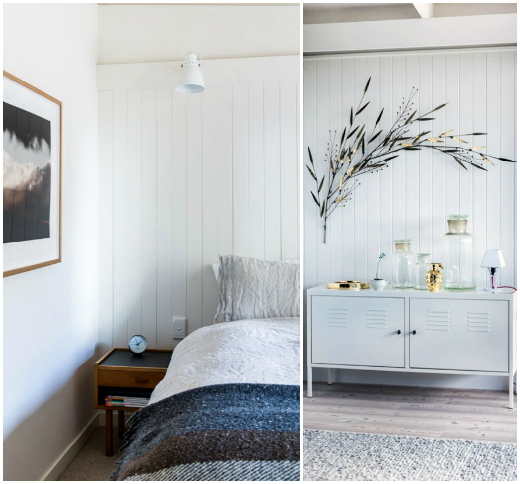 the log cabin bedroom Eclectic Trends The log cabin: a scandi style home in Melbourne