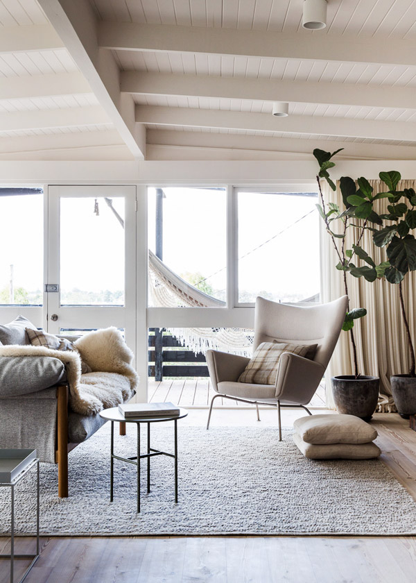 the log cabin living Eclectic Trends The log cabin: a scandi style home in Melbourne