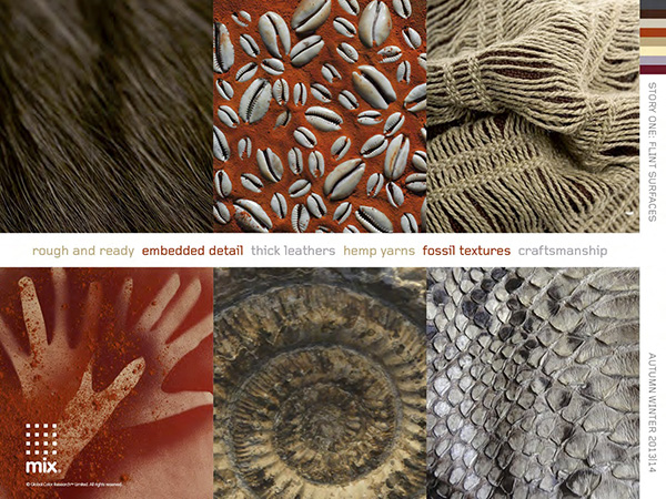 Color and pattern trends   Flint materials 4 colour and pattern trends for Fall/Winter 2013/14