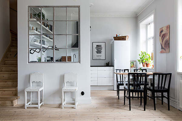 Louise Ljungberg kitchen | Eclectic Trends