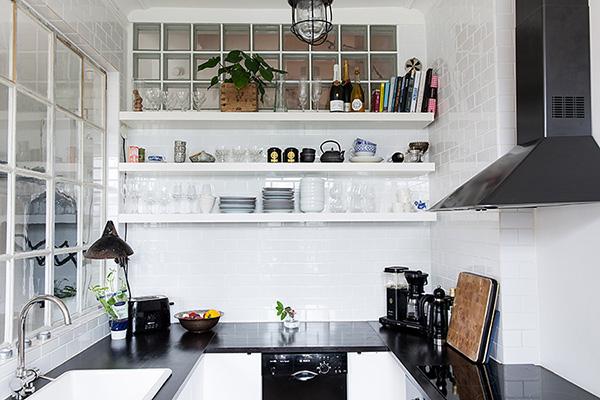 Louise Ljungberg kitchen corner | Eclectic Trends