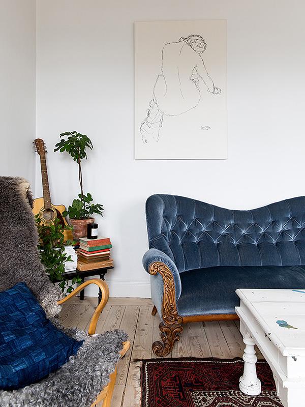 Louise Ljungberg sofa | Eclectic Trends