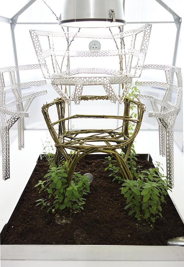 Werner Aisslinger chair farm | Eclectic Trends