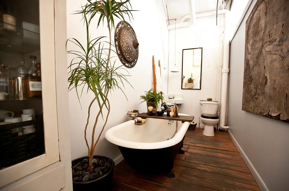 loft Brooklyn bath