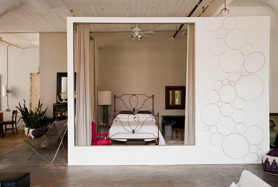 loft Brooklyn bedroom