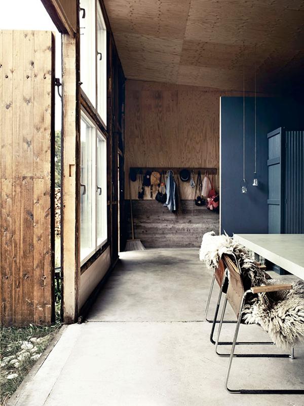 a former military garage_living