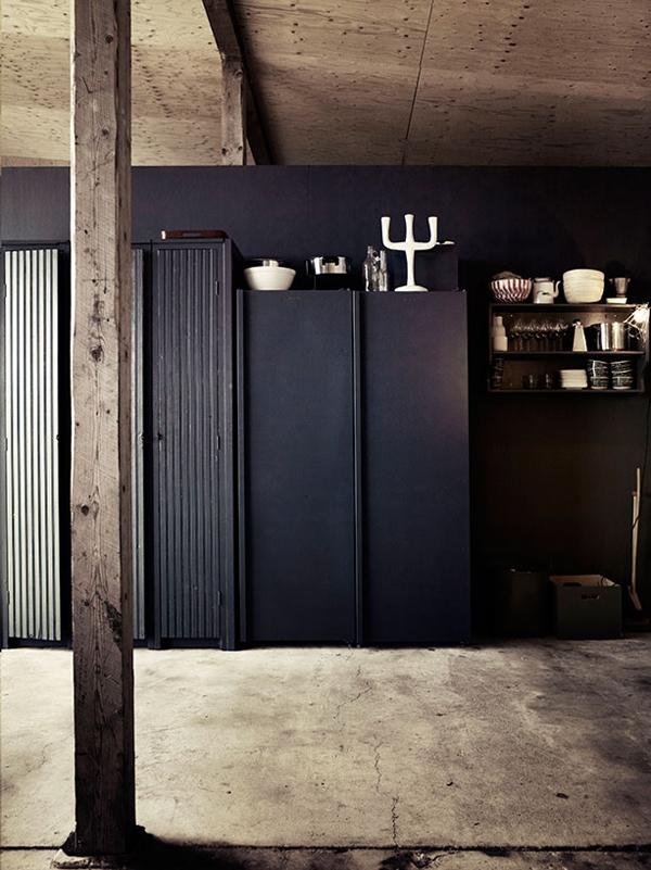 a former military garage_wardrobes