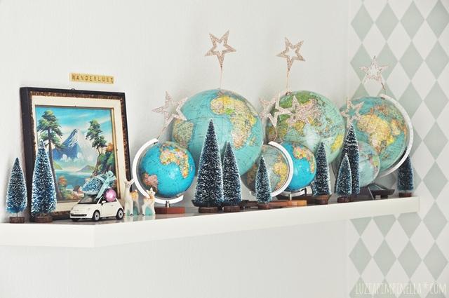 DSC_0746a_luziapimpinella_Weihnachten_Dekoration_VintageGloben_GlitzerSterne