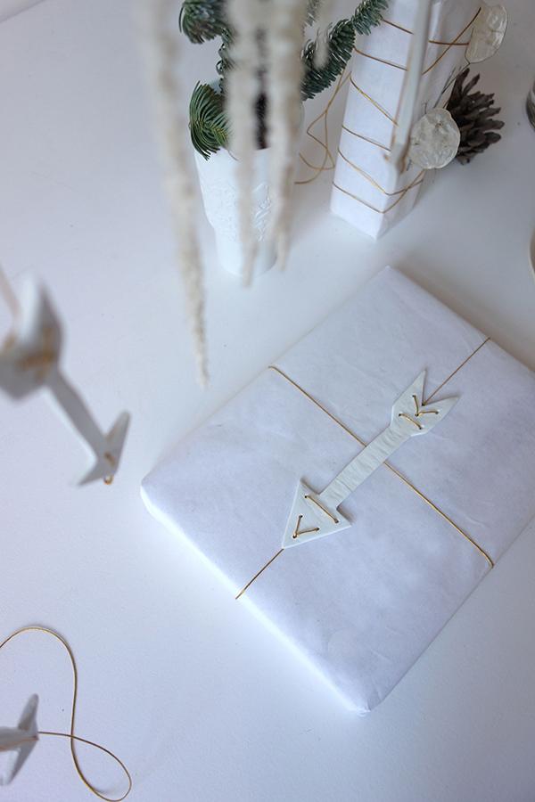Large Christmas arrow