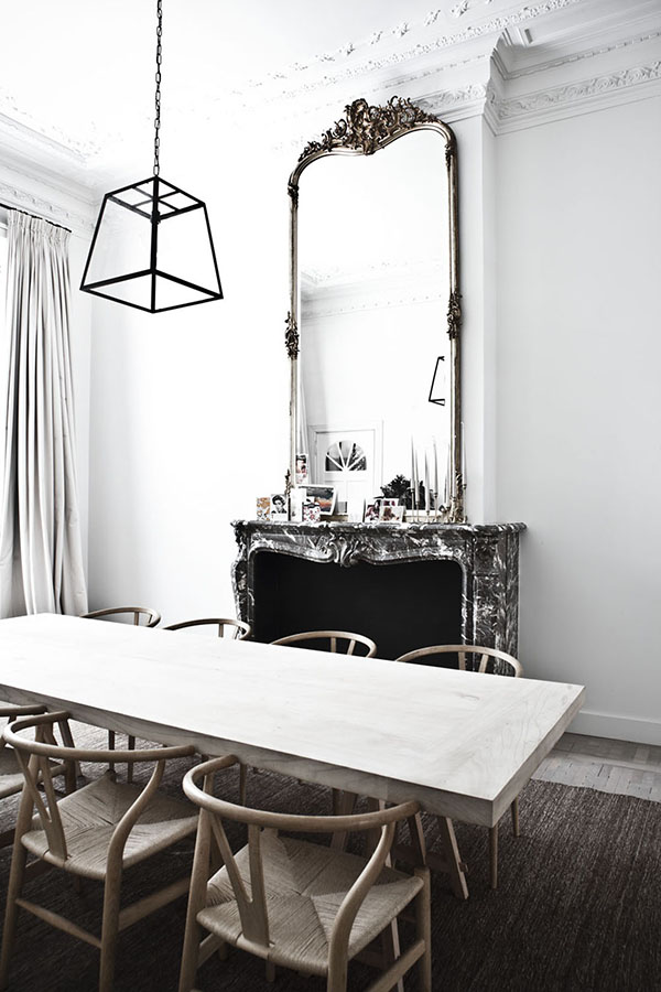 A stylish home in Antwerp_dining