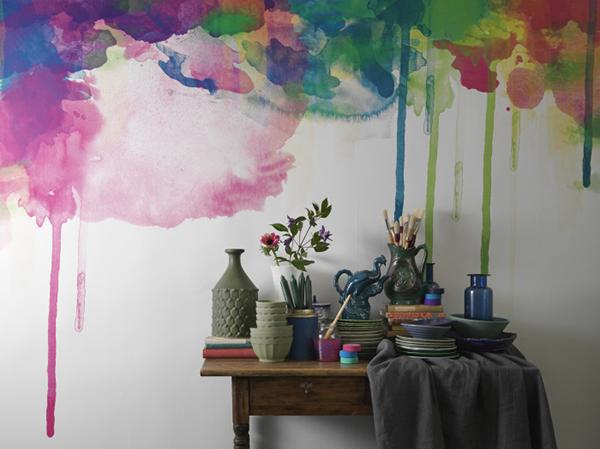 watercolor trend | Eclectic Trends