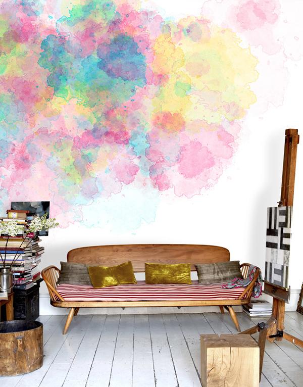 Watercolor trend