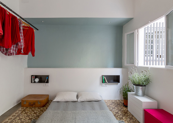 Nook architects_Barcelona style_bedroom