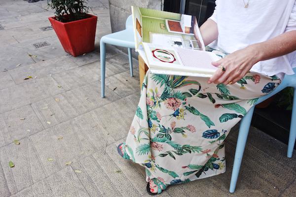 reading Bright Bazaar's book