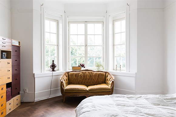 apartment Malmo bedroom