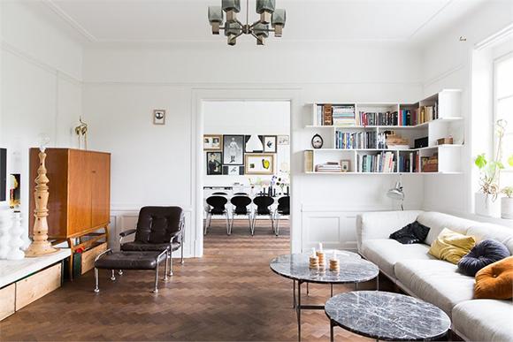 apartment Malmo living