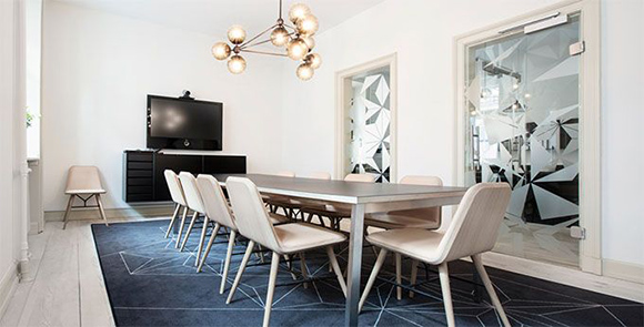 Eclectic Trends A Stunning Stylish Office Space The