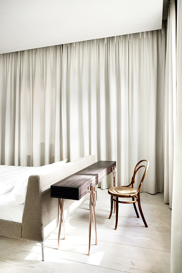 Stockholm home  bedroom
