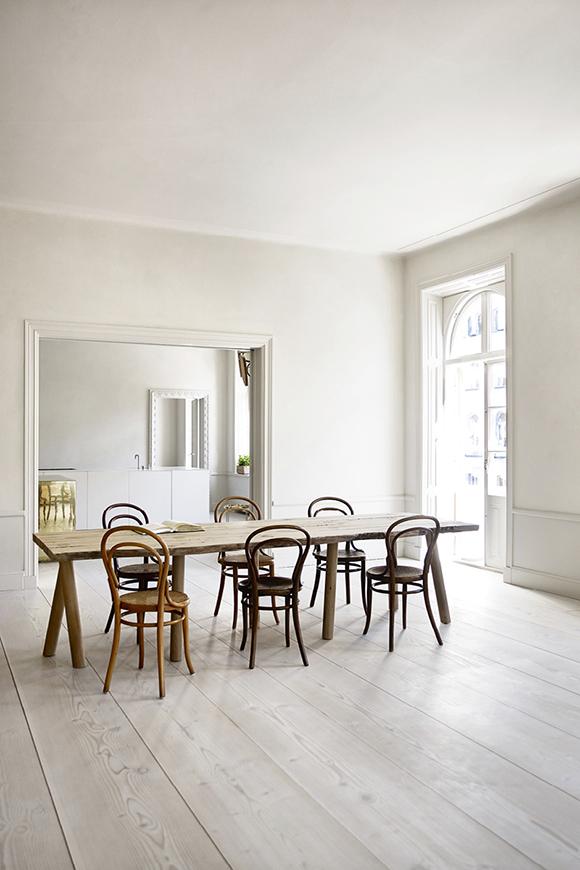 Stockholm home dining room
