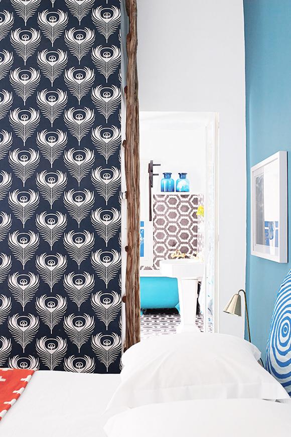 colorful Morroco home bedroom