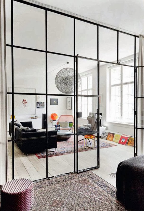 Eclectic Trends Its Trending metal black framed room