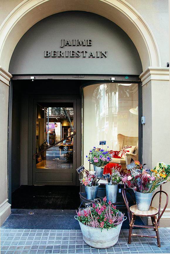 Jaime Beriestain Concept Store entrance