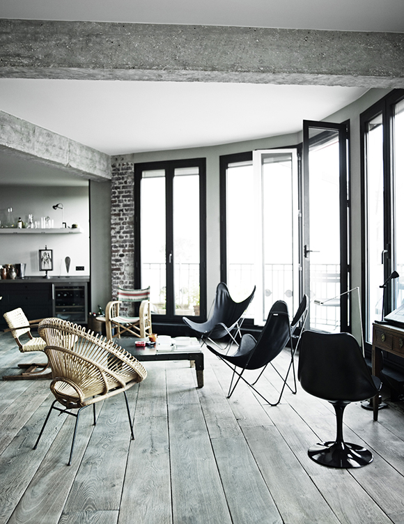 Eclectic Trends: a striking view over Paris