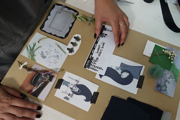 Moodboarding workshop Monica Custodio