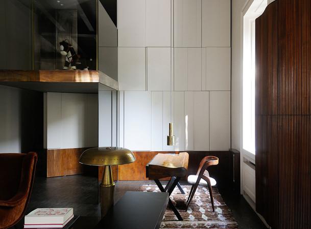 Vincenzo De Cotiis apartment Milan