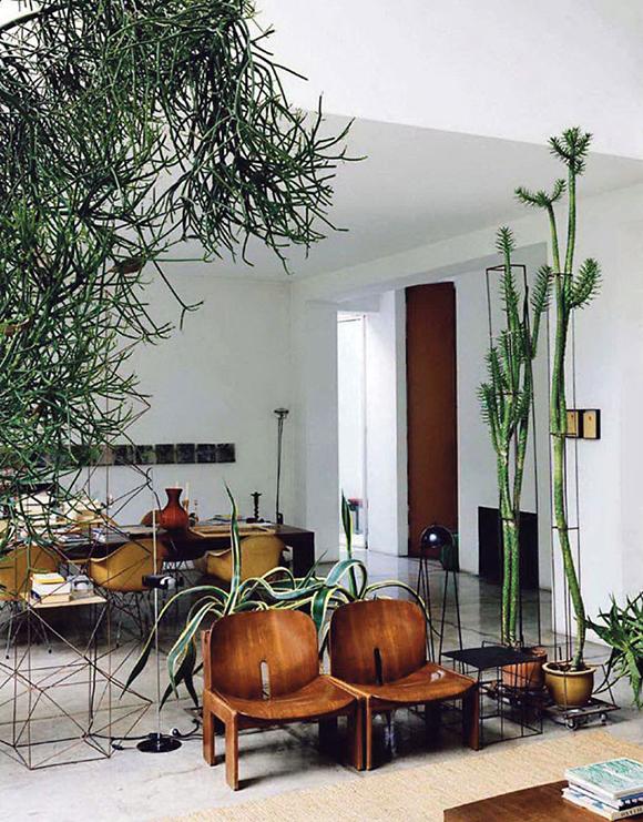 Maurizio Zucchi's urban jungle home-Eclectic Trends