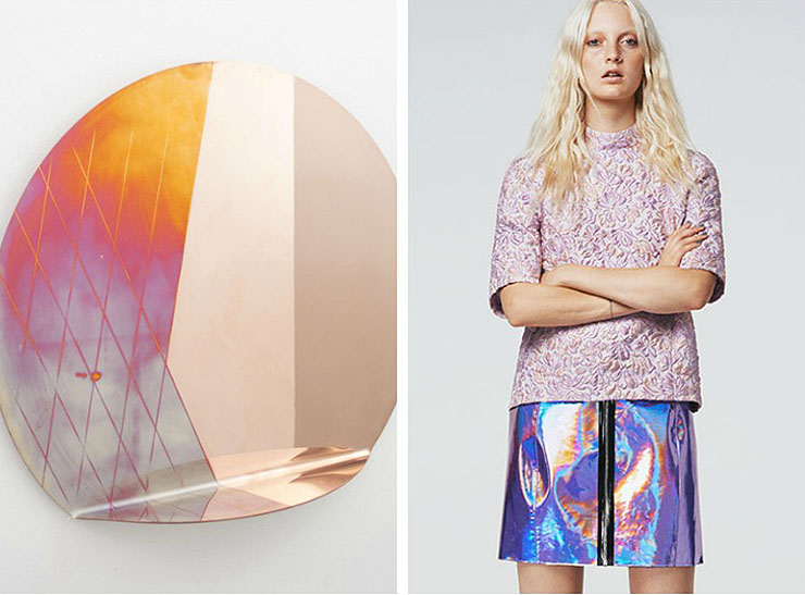 When Interior Meets Fashion-Iridescence Trend-Eclectic Trends