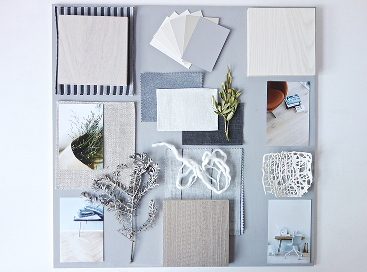 Commissioned Moodboards Pure Nordic Style Eclectic Trends