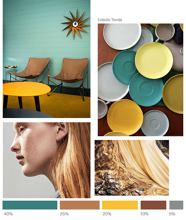 Color inspiration: green+earth +yellow - Eclectic Trends