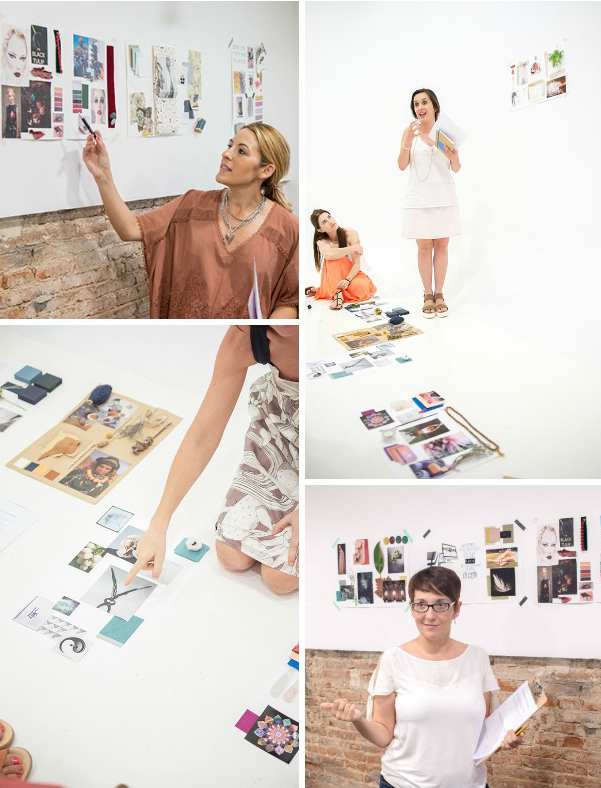Mood Board workshop - Eclectic Trends